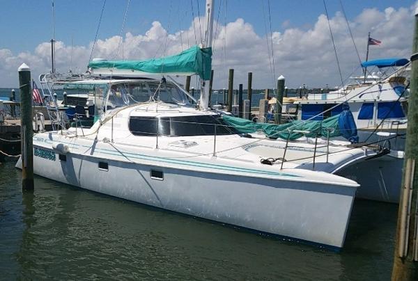Manta 40 Sail Catamaran Karma