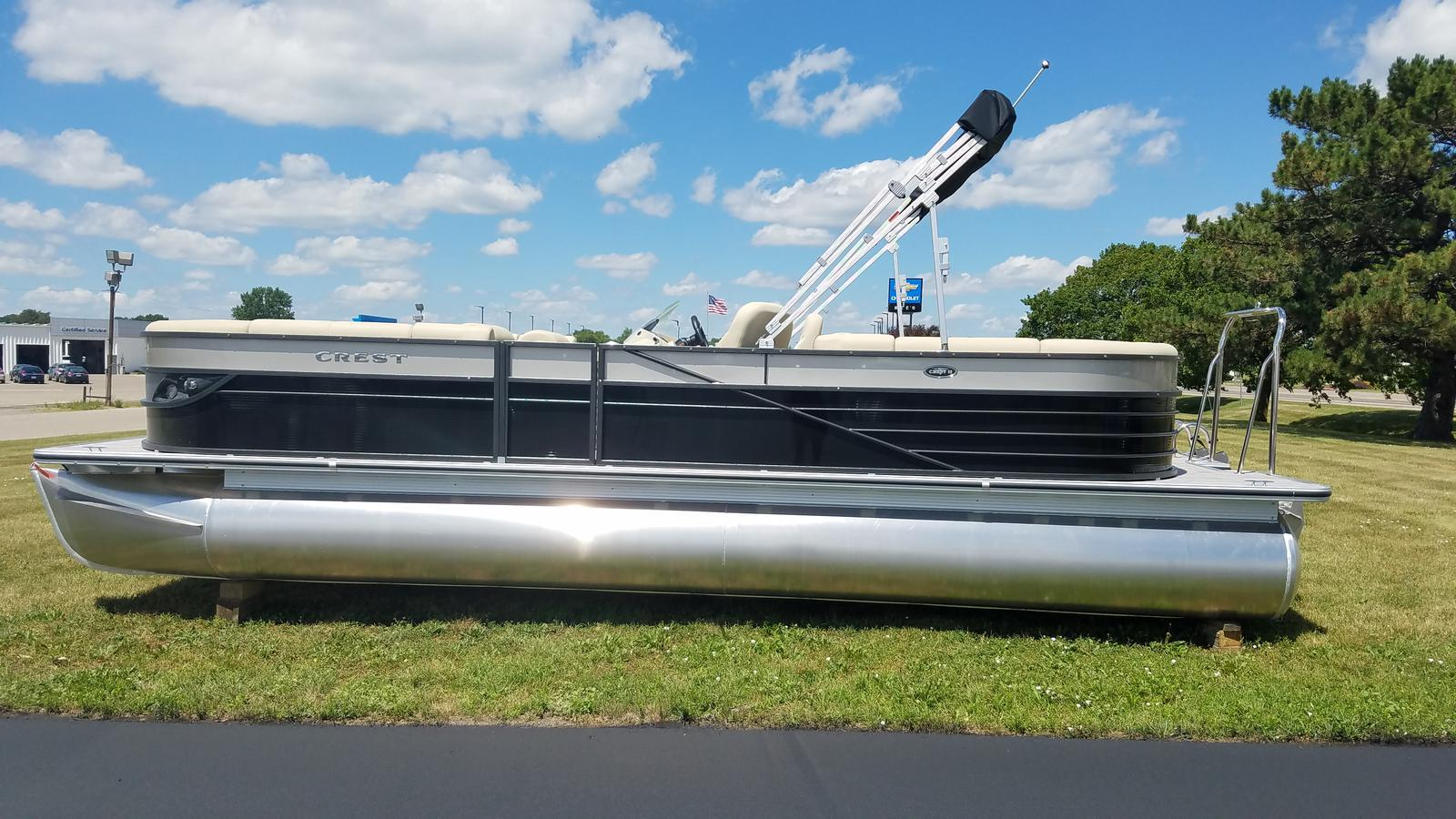 Crest Pontoon Boats Crest II 250 SLC CP3