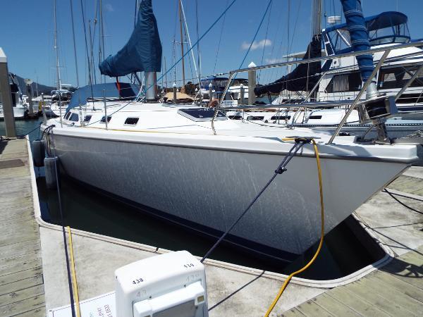 Catalina 42 mark II At The Dock