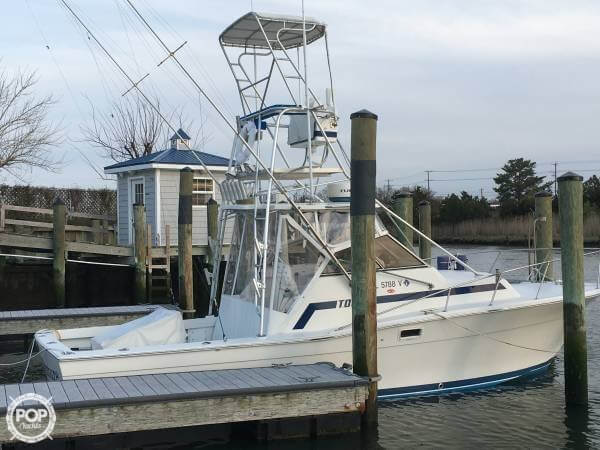 Topaz 29 Sportfish 1985 Topaz 29 Sportfish for sale in Lewes Beach, DE