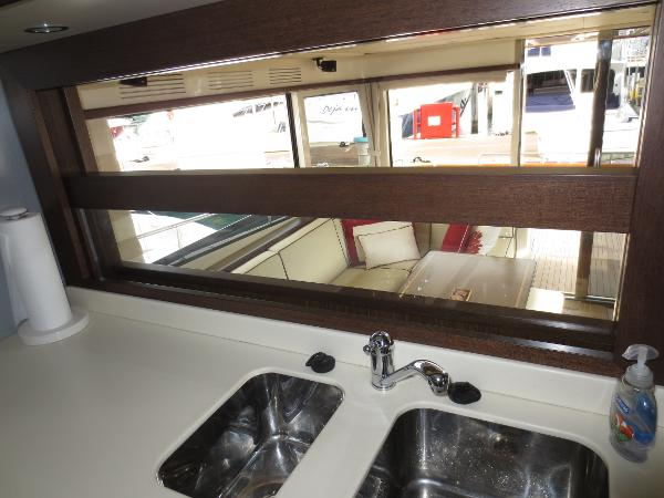 window in galley drops