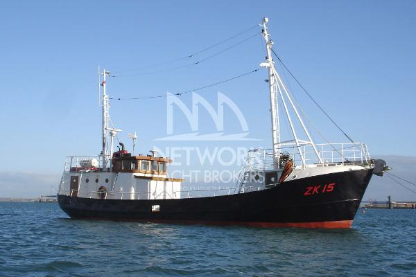 Trawler Converted Motor Boat