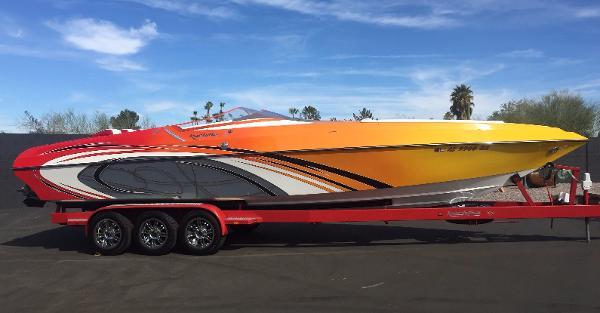 Kachina Boats 34' DRONE
