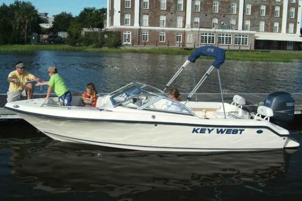 Key West 186 Dual Console Manufacturer Provided Image