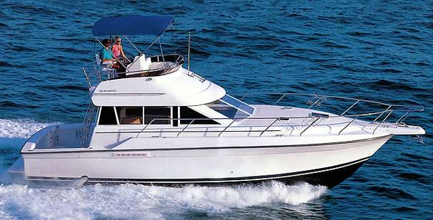 Silverton 37 Convertible - D 1993 Silverton 37 Convertible (mfg provided)