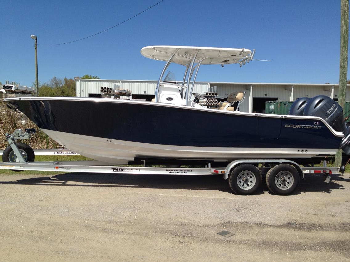 boats sportsman 252 open console center boat florida