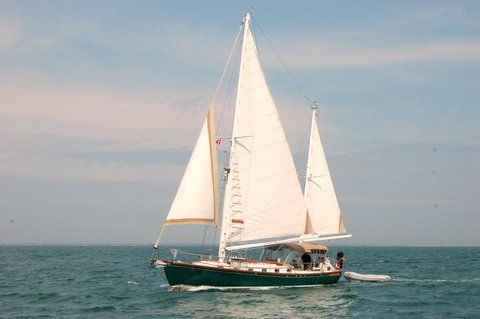 Buzzards Bay Boats Inc./Vaitses-Custom Herreshoff Ketch Photo 1