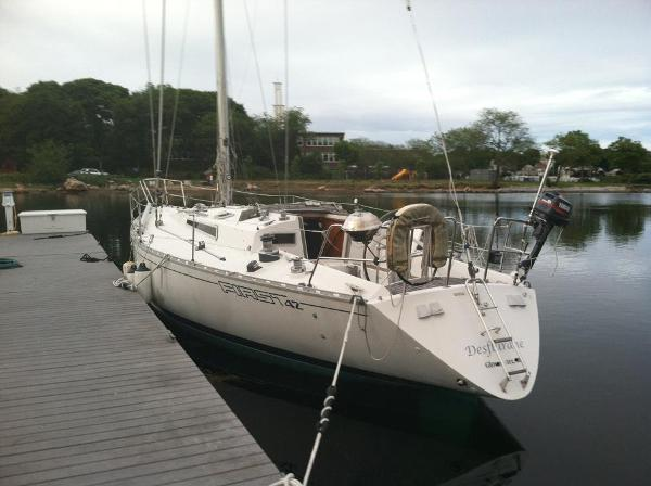 Beneteau First 42 At the dock