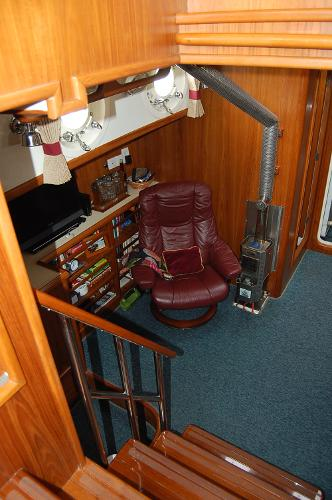 Captains Chair & Heater