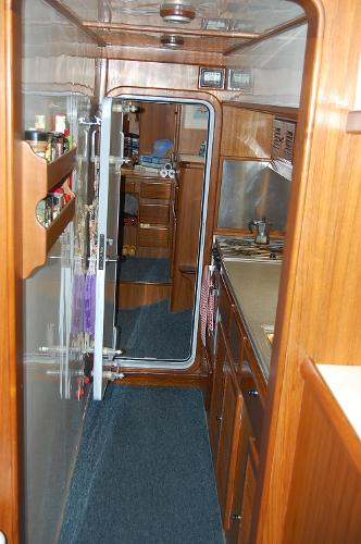 Galley in Aft Passageway