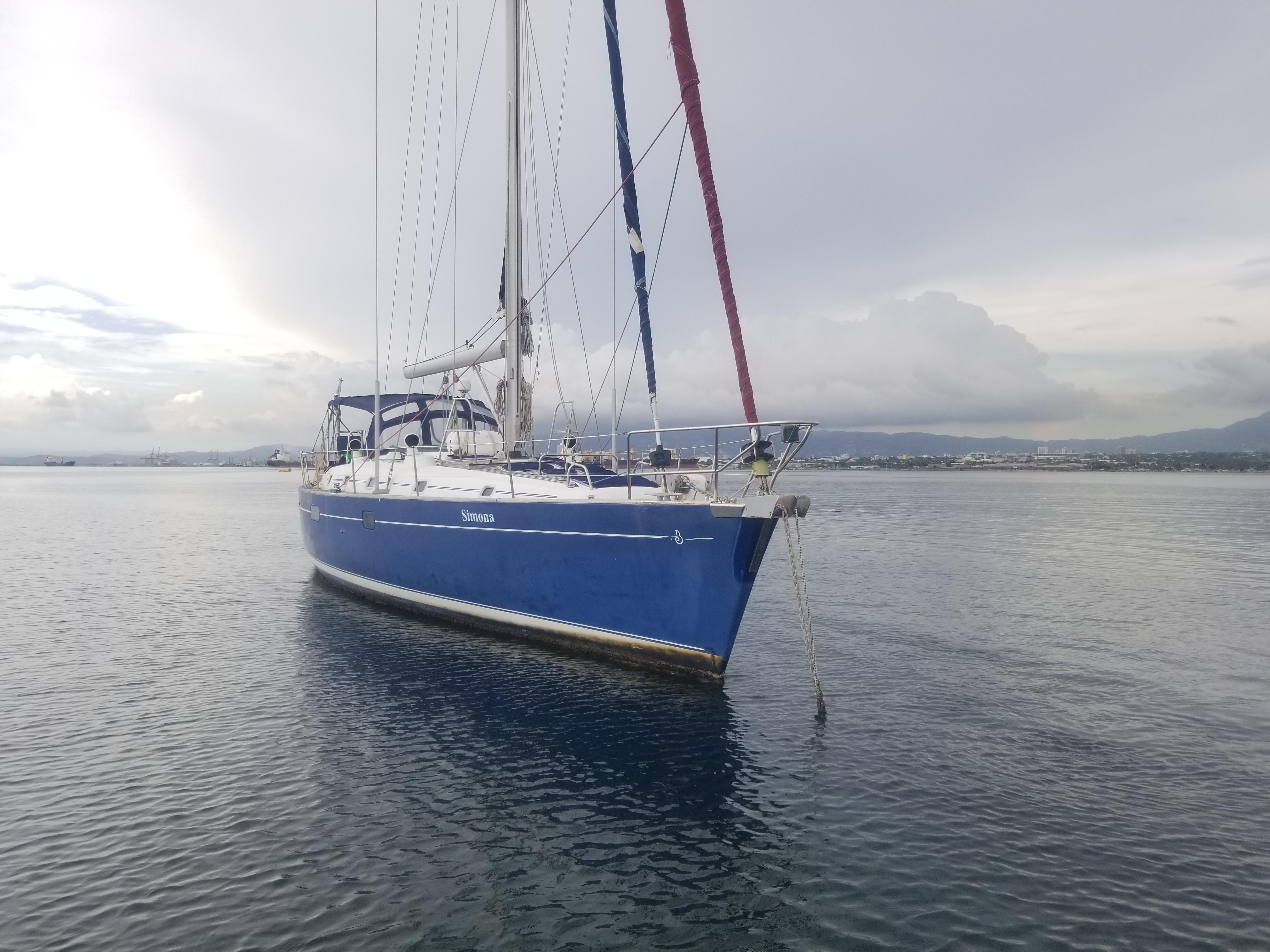 Beneteau 50 At Anchor