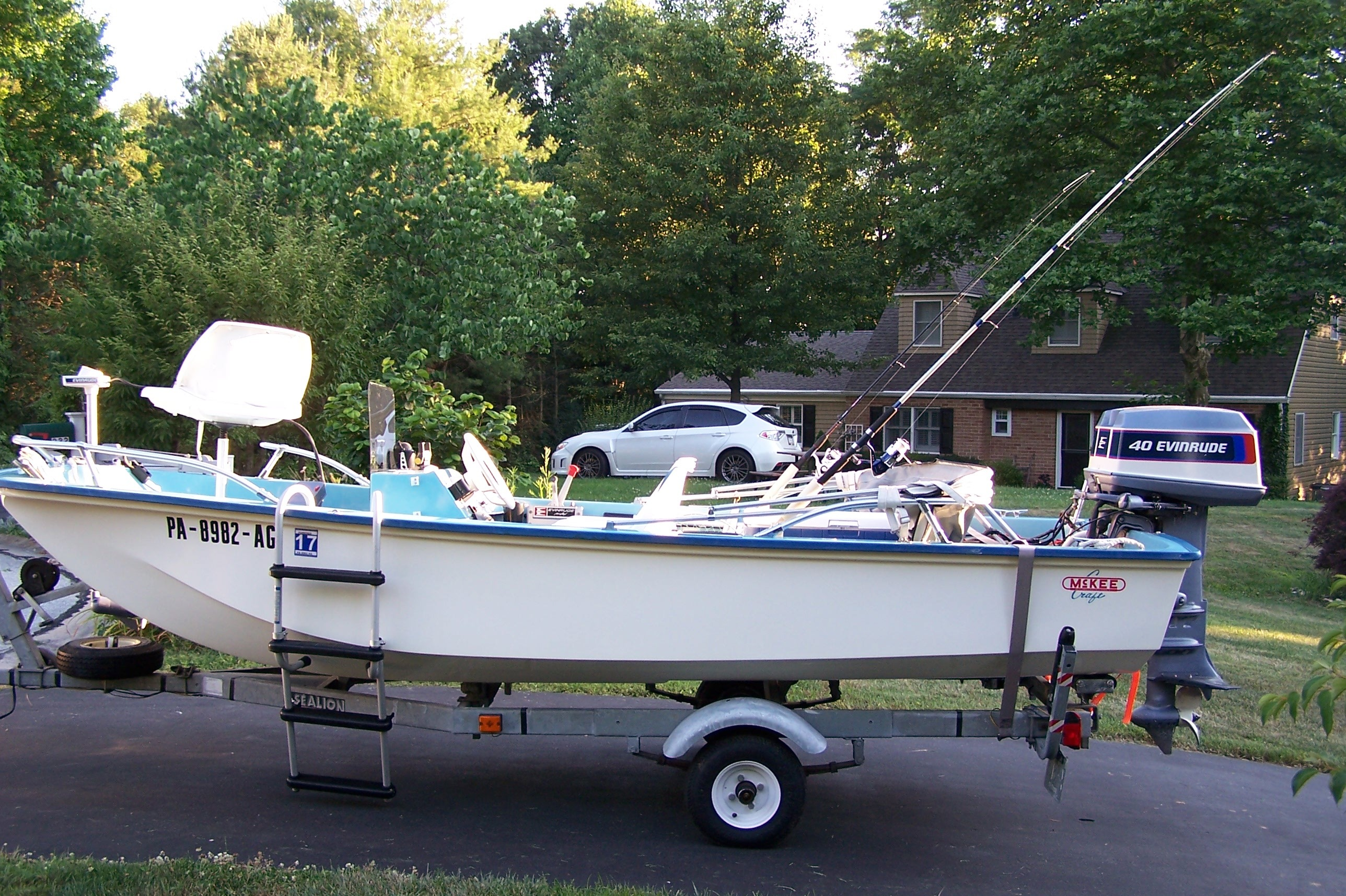 Mckee craft boats for sale for Skiff craft boats for sale