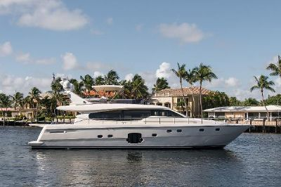 Ferretti Yachts Flybridge Motor Yacht No Whey