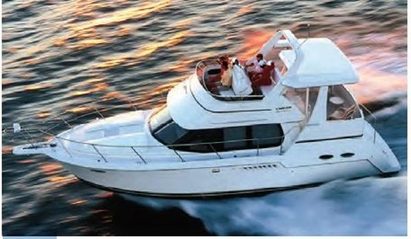 Carver 356 Aft Cabin Motor Yacht STOCK PHOTO