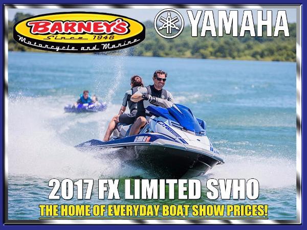 Yamaha Waverunner FX SVHO Limited