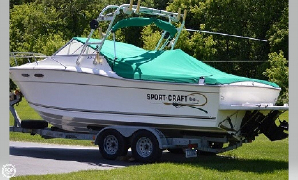 SportCraft 232 Gls 1999 Sportcraft 232 GLS for sale in Brighton, MI