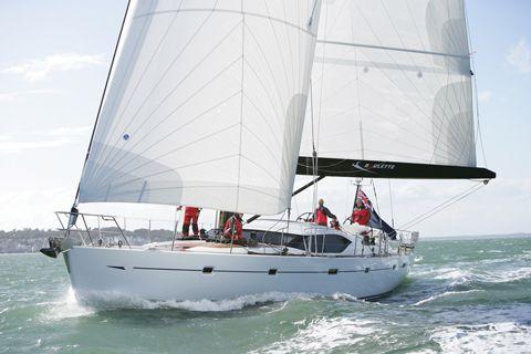 Oyster 655 At sea