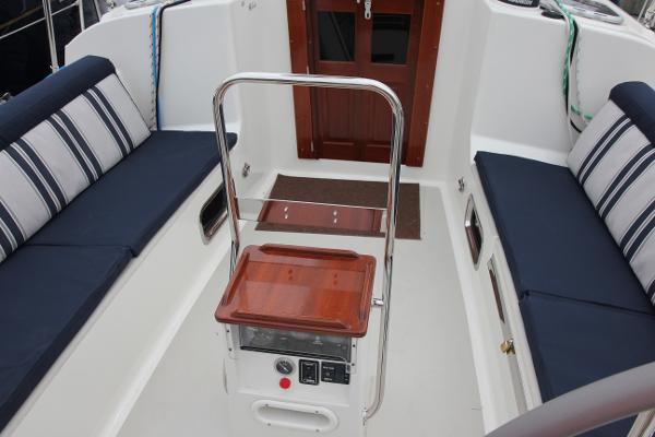 Cockpit Cushion and Companionway Door Upgrade