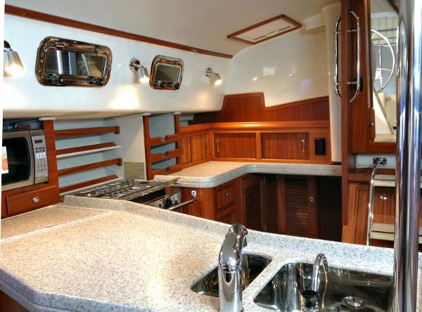 Galley With 2 Cabins