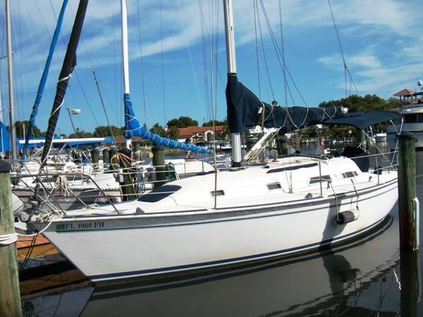 Pearson 31-2 Wing Keel Profile Port