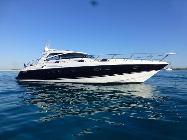 Princess V58 Starboard view