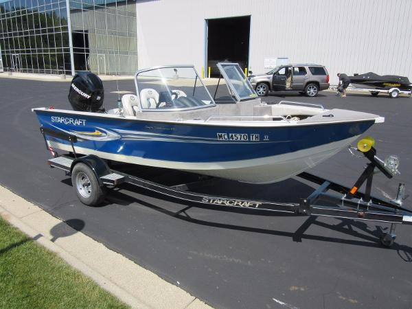 Starcraft aluminum boats for sale used for Used aluminum fishing boats for sale in michigan
