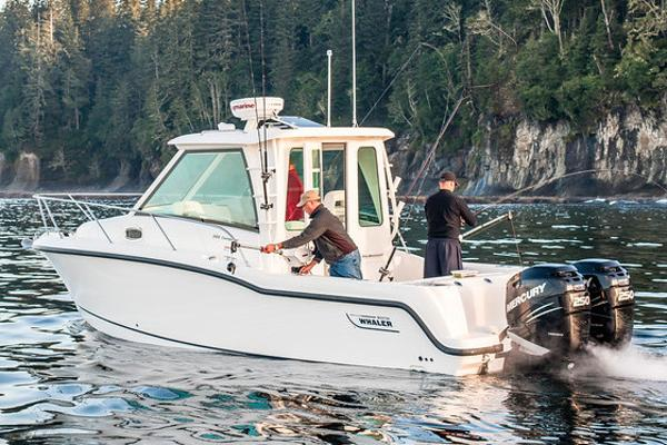 Boston Whaler 285 Conquest Pilothouse Manufacturer Provided Image
