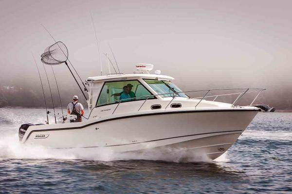 Boston Whaler 315 Conquest Pilothouse Manufacturer Provided Image