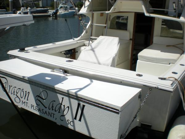 Cockpit & Custom Transom Fishbox
