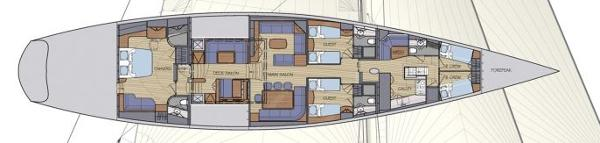 Harman 110 ft Pilot Cutter Layout Plan