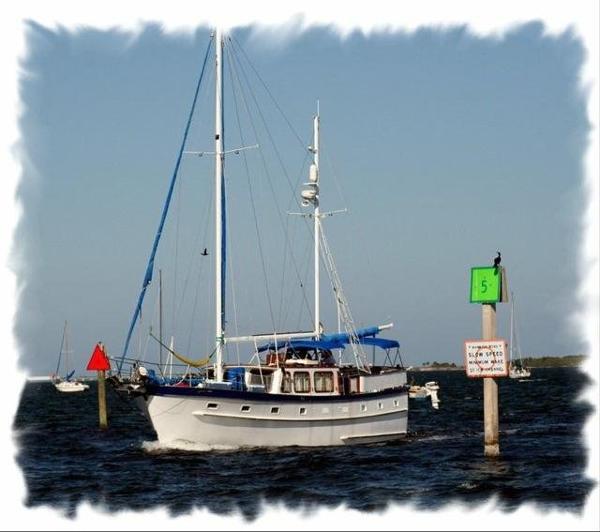 Island Trader Marine Motor Sailer Ketch