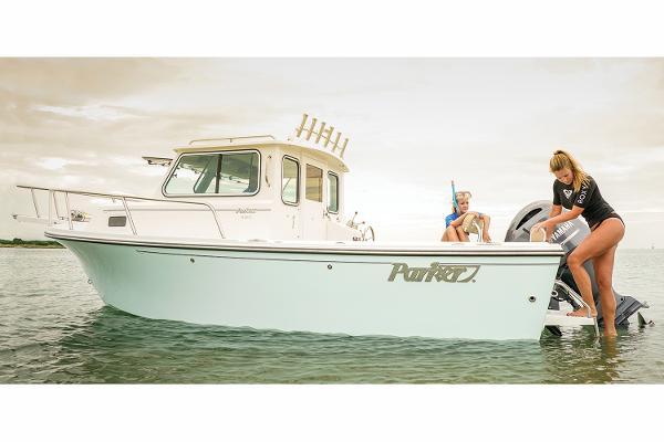 Parker 2120 Sport Cabin Manufacturer Provided Image