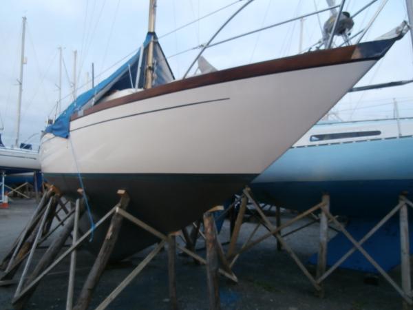 Nicholson 26 Ashore