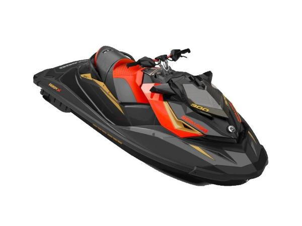Sea-Doo RXP®-X® 300 Eclipse Black and Lava Red