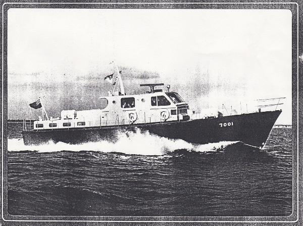 Classic MOD Fast Launch No: 7001 Brochure photo