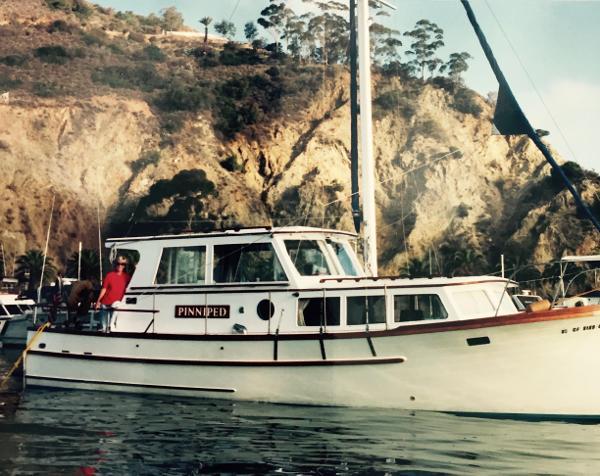 Roughwater 36 motor sailer trawler