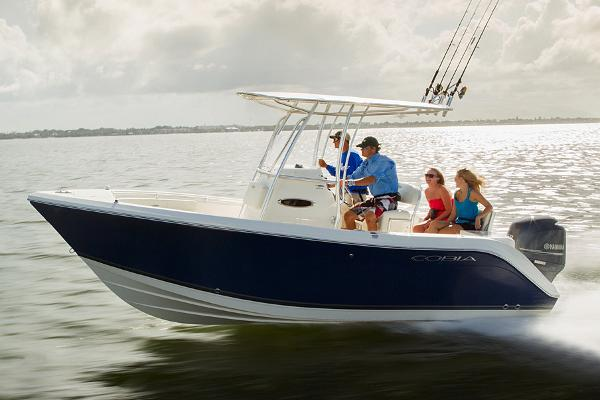 Cobia 201 Center Console Manufacturer Provided Image