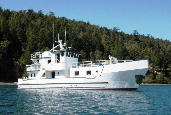 Allemande Custom Expedition Trawler