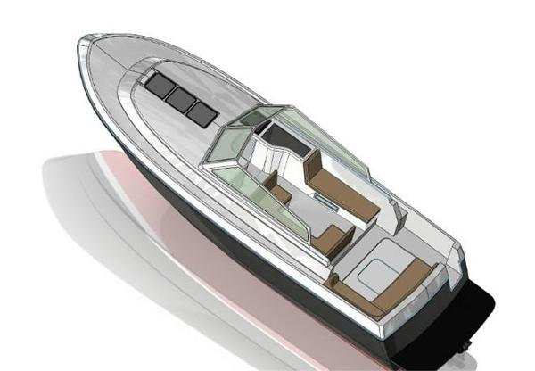 Dale Nelson 34 Open Deck Layout Plan