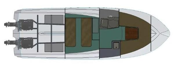 Dale Nelson 34 Open Lower Deck Layout Plan