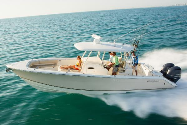 Cobia Boats 344 Center Console Manufacturer Provided Image