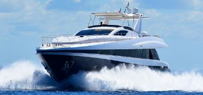 Rodriquez 80 Widebody Solange II Conam Rodriguez 2005 80' Widebody Underway 25 knots
