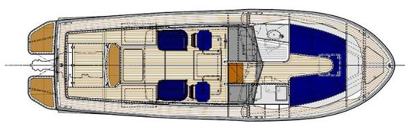Dale Nelson Classic 35 Interior Layout Plan