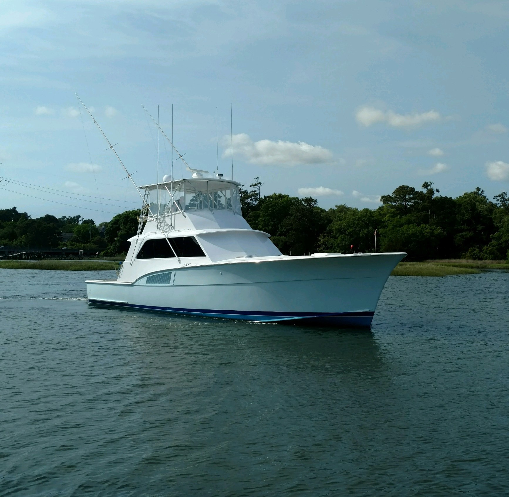 Hatteras 53 Sportfish Convertible 53 Hatteras Profile