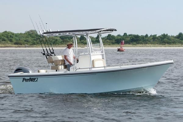 Parker 2100 Center Console Manufacturer Provided Image