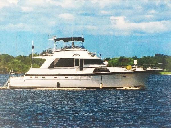 Hatteras Yacht Fish