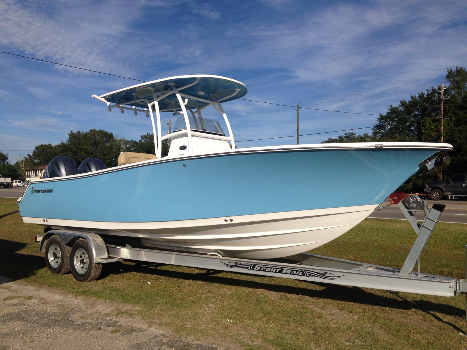 boats sportsman 252 open boat states united center console boating