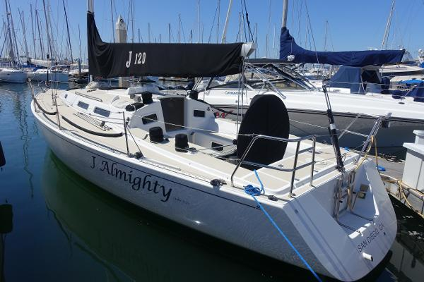 J Boats J/120 Dockside  Port