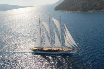 Aegean Yacht AEGEAN 164 G 50 m Steel Schooner Hazar Yildizi former Galileo profile photo