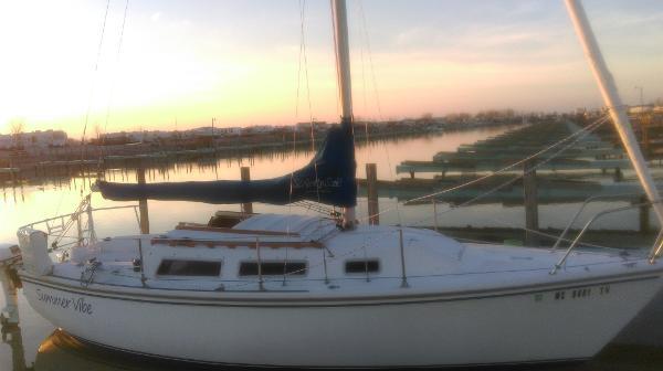 Catalina Swing keel tall rig
